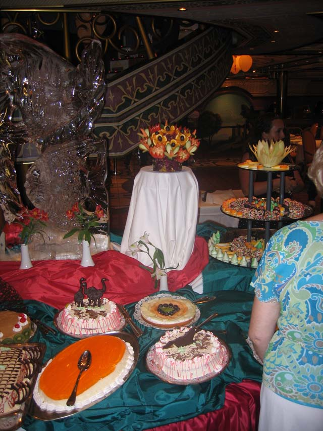 Cruiseclues Costa Cruises Costa Mediterranea Gala Buffet
