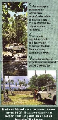 Raiatea 4x4 Excursion page 2